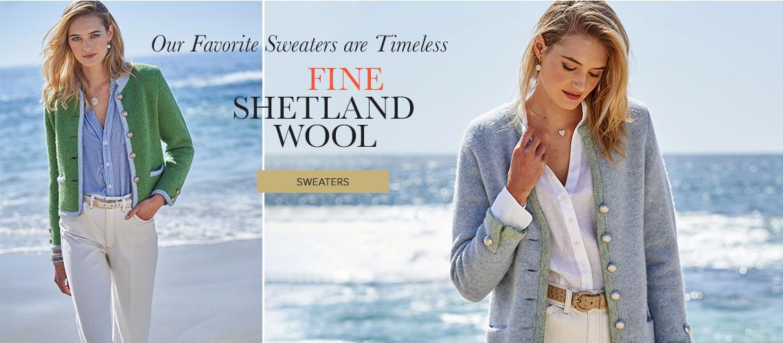 Fine Shetland Wool - Shop Sweaters
