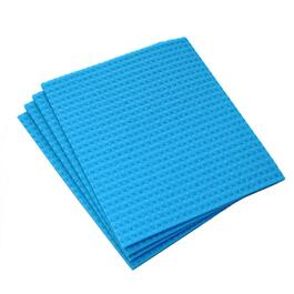"4 Pack 8"" x 7"" All Purpose Cellulose Sponge Cloths thumb"