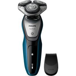 3 Head Rechargeable Aquatouch Wet Dry Shaver thumb