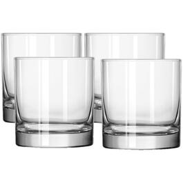 4 Pack 11oz Heavy Base Double Old Fashion Tumbler Set thumb