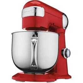500 Watt 12 Speed Red Stand Mixer, with 5.5 Quart Bowl thumb