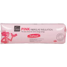"1.5"" x 15"" Quietzone Pink Insulation, covers 190 sq. ft. thumb"