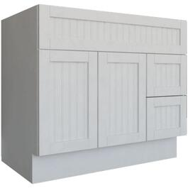 "36"" x 21"" 2 Door 2 Drawer White Stratford Vanity thumb"