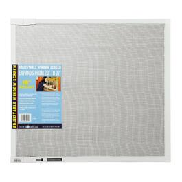 "18"" x 20-37"" Adjustable Aluminum Window Screen thumb"