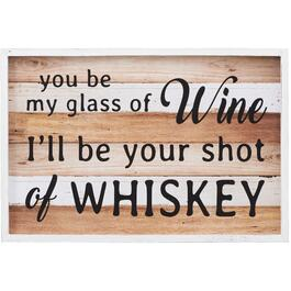 "16"" x 23.5"" Be My Glass Of Wine Wall Plaque thumb"