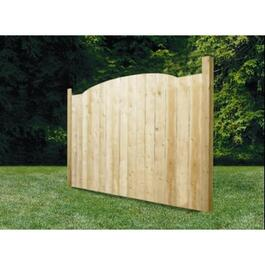 5' Spruce Sanded One Side Laurentian Privacy Fence Package thumb