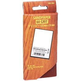 10 Pack 60 Grit Hook and Loop Sandpaper Refills thumb