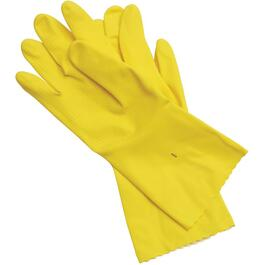 6 Pairs Medium Latex Household Gloves thumb