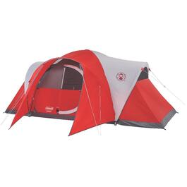 16' x 7' 8 Person Dome Tent, with Hinged Door thumb