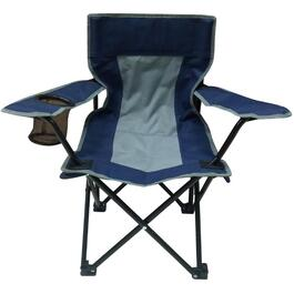 Blue/Grey Kids Camping Chair thumb