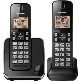 2 Pack Dect 6.0 Cordless Phones, with Caller Identification thumb