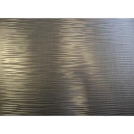"18"" x 24"" Brushed Nickel Backsplash Panel thumb"