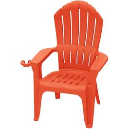 Red Big Easy Stacking Adirondack Chair thumb