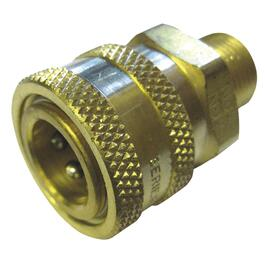 "3/8"" MNPT Brass Quick Coupler thumb"