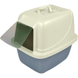 Large Hooded Cat Litter Box, with Flap thumb
