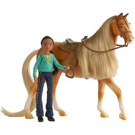 Chica Linda and Pru Horse and Rider Playset thumb