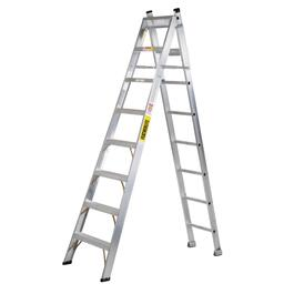 8' #1 Aluminum 3-Way Ladder thumb