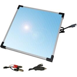 12 Volt 6 Watt Solar Panel Battery Trickle Charger thumb
