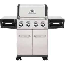 Regal S420 Pro 4 Burner 695 sq. in. 50,000BTU Stainless Steel Natural Gas Barbecue thumb