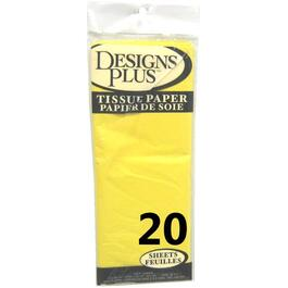 "20 Pack 20"" x 20"" Yellow Tissue Paper thumb"
