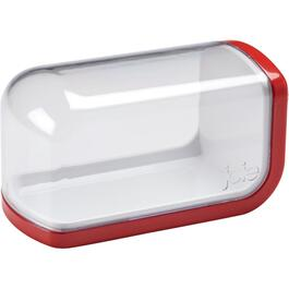 Plastic Butter Dish with Cover, Assorted Colours thumb