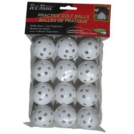 12 Pack Wiffle Practice Golf Balls thumb