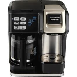 FlexBrew 12 Cup Black/Stainless Steel 2-Way Coffee Maker thumb