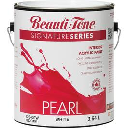 3.64L White Base Pearl Finish Interior Latex Paint thumb