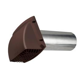 "4"" Brown Vent Hood, with Tailpiece thumb"