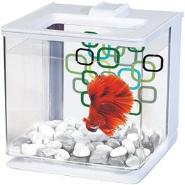 2.5L White Betta Aquarium Kit thumb