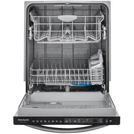 "24"" Black Stainless Steel Built-In Dishwasher thumb"