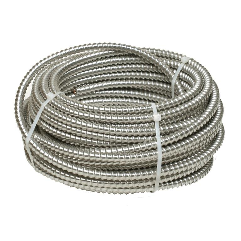 30M 12/2 AC-90 Armored Electrical Cable - Home Hardware