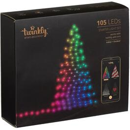 105 LED Multi Coloured Light Set, with Wifi, for Tree thumb