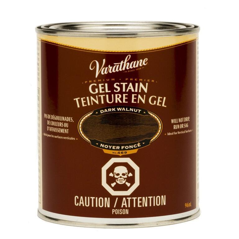 946mL Dark Walnut Gel Stain