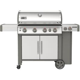 Genesis II S-435 3 Burner + Side Burner 39,000BTU Stainless Steel Propane Barbecue thumb