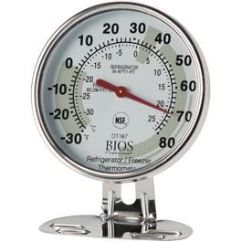 "3"" Refrigerator and Freezer Thermometer thumb"