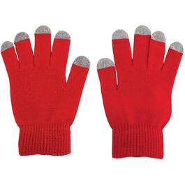 Unisex Touch Screen Acrylic Gloves, Assorted Colours thumb