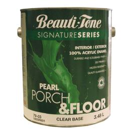 3.40L Clear Base Interior/Exterior Porch & Floor Latex Paint thumb