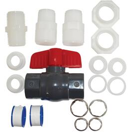 "Filter Valve Connector Kit for 1/2"" - 3/4"" Copper or Plastic Pipe thumb"