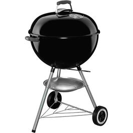 Kettle Series 363 sq. in. Black Charcoal Barbecue thumb