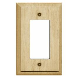 Wood Decora 1 Device Switch Plate thumb