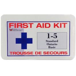 Basic First Aid Kit, for 1-5 People thumb