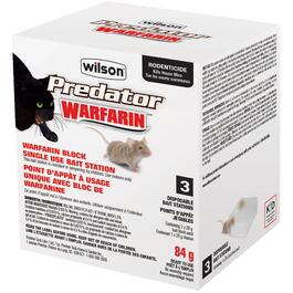 3 Pack Warfarin Mouse Block Pre-Filled Station thumb