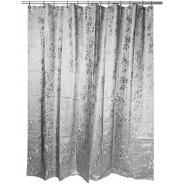 "70"" x 72"" Etched Rose Peva Shower Curtain thumb"