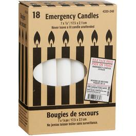 "18 Pack 7"" Emergency Candles thumb"
