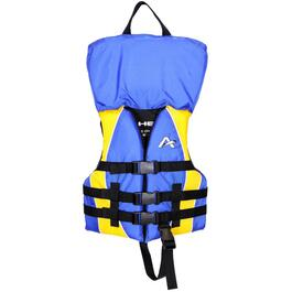 Closed Side Nylon Blue and Yellow Child PFD thumb