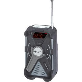 Portable AM/FM Solar Weather Radio, with USB Cellphone Charger, Flashlight and Crank thumb