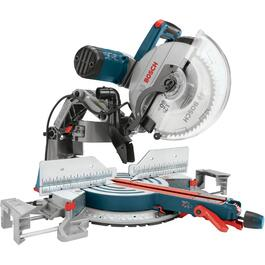 "12"" 15 Amp Dual Bevel Sliding Compound Mitre Saw thumb"