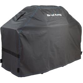 "64"" x 23"" x 45.5"" PVC Barbecue Cover, with Polyester Backing thumb"