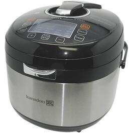 5L Stainless Steel/Black Pressure Multi-Cooker thumb